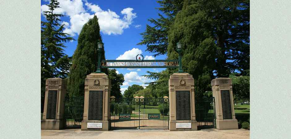Anzac Park Glen Innes & District Soldiers Memorial